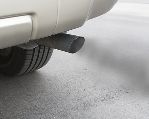 A Car Exhaust